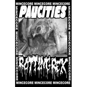 PAUCITIES/ROTTINGREX-Split MC