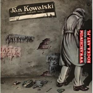 JAN KOWALSKI-Inside outside songs LP