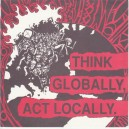 V/A Think Globally, Act Locally. 2 x 7''