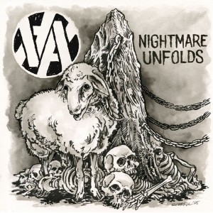 ANTI YOU-Nightmare Unfolds 7''