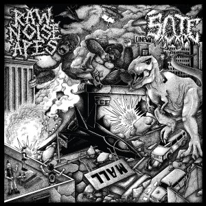 RAW NOISE APES/S.O.T.E.-Split 10''