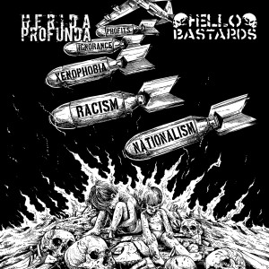 HELLO BASTARDS/HERIDA PROFUNDA-Split 7''