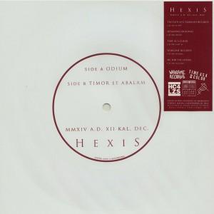 HEXIS-MMXIV A.D. XII KAL. DEC. Flexi 7''